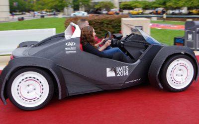 La impresión 3D brinda nuevas oportunidades a las marcas de automóviles.
